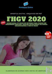 Apostila Assistente Administrativo FHGV 2020