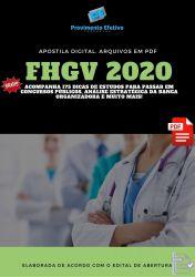 Apostila Fonoaudiólogo FHGV 2020