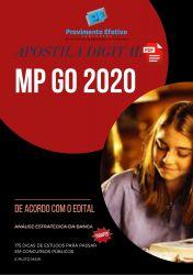 Apostila Oficial de Promotoria - MP GO 2020