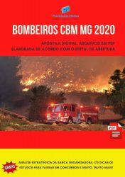 Apostila Bombeiros CBM MG - Curso de Formação de Oficiais CFO - 2020