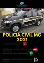 Apostila Polícia Civil MG Analista Psicologia - 2021