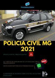 Apostila Polícia Civil MG Investigador de Polícia - 2021