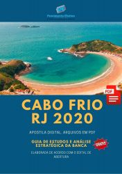 Apostila Concurso Prefeitura Cabo Frio RJ 2020 BIÓLOGO