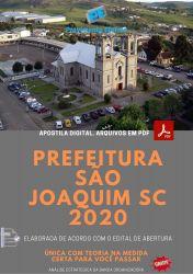 Apostila Concurso Pref São Joaquim SC 2020 Agente Administrativo