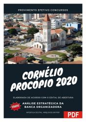 Apostila Secretaria Executiva Concurso Pref Cornelio Procopio 2020