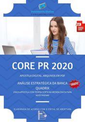 Apostila Concurso CORE PR 2020 Assistente Administrativo Junior