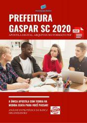 Apostila Concurso Pref Gaspar SC 2020 Tecnico de Enfermagem