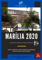 Apostila Concurso Pref Marilia SP 2020 ENFERMEIRO