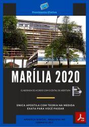 Apostila Concurso Pref Marilia SP 2020 Professor Educação Fisica