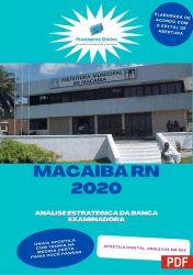 Apostila Concurso Pref Macaíba RN 2020 Tecnico de Raio X