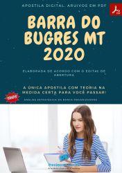 Apostila Prefeitura Barra Bugres MT 2020 Engenheiro Florestal