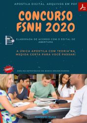 Apostila Concurso Publico FSNH 2020 Enfermeiro Saude Mental