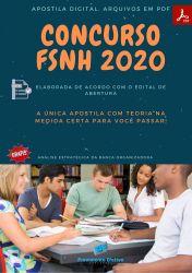 Apostila Concurso Publico FSNH 2020 Tecnico de Enfermagem