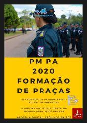 Apostila Polícia Militar PM PA 2020 Curso Formação de Praças CFP PMPA