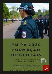 Apostila Polícia Militar PM PA 2020 Curso Formação de Oficiais CFO PMPA