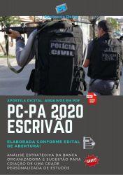 Apostila Concurso Polícia Civil PC PA 2020 Escrivão
