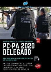 Apostila Concurso Polícia Civil PC PA 2020 DELEGADO DPC