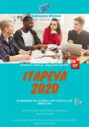 Apostila Concurso Prefeitura Itapeva SP 2020 PSICOLOGO