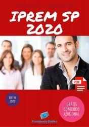 Apostila Concurso IPREM SP 2020 CONTADOR