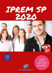 Apostila Concurso IPREM SP 2020 Auxiliar Apoio Administrativo