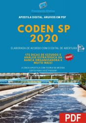 Apostila Concurso CODEN SP 2020 ALMOXARIFE