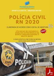 Apostila Concurso Policia Civil RN 2020 AGENTE DE POLICIA