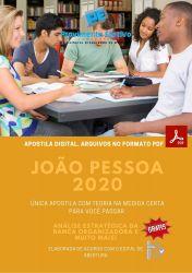 Apostila Concurso Pref João Pessoa 2021 Assistente Social em Saude