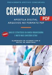 Apostila Concurso CREMERJ 2021 Assistente Juridico