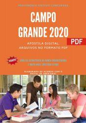 Apostila Prefeitura Campo Grande MS 2021 Guarda Civil