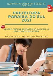 Apostila Prefeitura Paraiba do Sul 2021 Engenheiro Civil