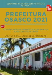 Apostila Concurso Prefeitura Osasco 2021 Técnico de Enfermagem Intervencionista