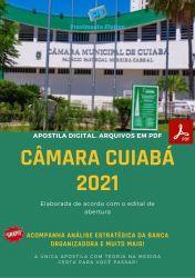 Apostila Concurso Câmara Cuiabá 2021 Analista Legislativo