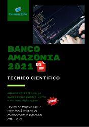 Apostila Banco Amazônia 2021 Tecnico Cientifico Tecnologia da Informação