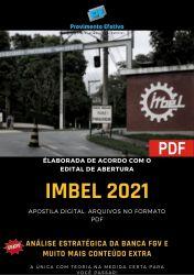 Apostila Concurso IMBEL 2021 Supervisor Contador