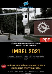 Apostila Concurso IMBEL 2021 Nutricionista