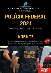 Apostila Concurso Polícia Federal 2021 Agente de Policia