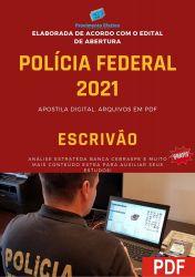 Apostila Concurso Polícia Federal 2021 Escrivão