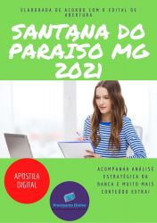 Apostila Pref Santana do Paraiso MG 2021 Psicologo