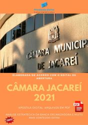 Apostila Concurso Camara Jacarei 2021 Assistente de Finanças