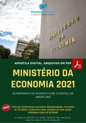 Apostila Ministério da Economia 2021 Tecnico em Administração Contabilidade ou Informatica