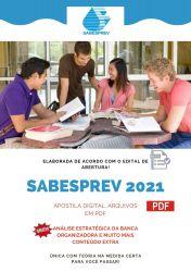 Apostila Concurso SABESPREV 2021 Tecnico de Gestao Atendimento