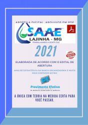 Apostila Concurso SAAE Lajinha MG 2021 Operador ETA ETE