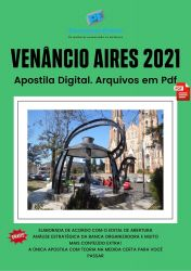 Apostila Concurso Pref Venancio Aires 2021 Fiscal Sanitário