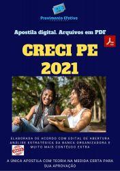 Apostila Concurso CRECI PE 2021 Agente Fiscal