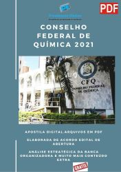 Apostila Concurso CFQ DF 2021 ADVOGADO