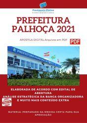 Apostila Concurso Prefeitura Palhoça 2021 Psicólogo