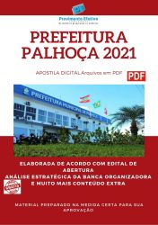Apostila Concurso Prefeitura Palhoça 2021 Técnico em Enfermagem