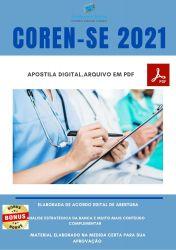 Apostila Concurso COREN SE 2021 Enfermeiro Fiscal
