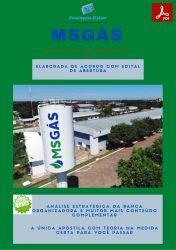 Apostila MSGÁS 2021 Analista de Processos Tecnológicos Segurança do Trabalho