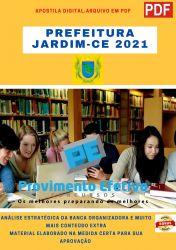 Apostila Concurso Prefeitura Jardim CE 2021 cargos Nivel Medio e Tecnico